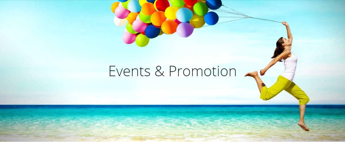 events and promotions banner